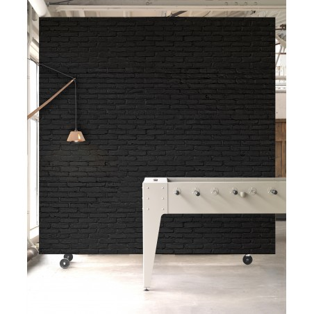 Piet Hein Eek Wallpaper Brick Wall Black PHM-33