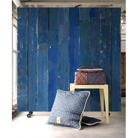 Piet Hein Eek Wallpaper Brick Blue Scrapwood PHM-36