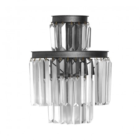 Crystal Prisms Wall Light