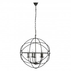 Openwork Globe Chandelier