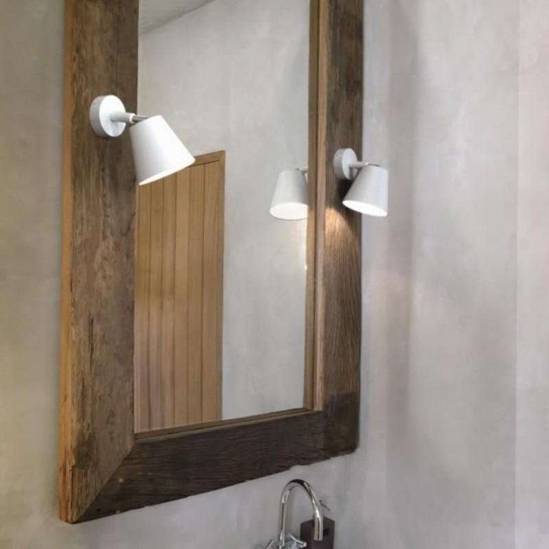 White Wall Bathroom Lamp