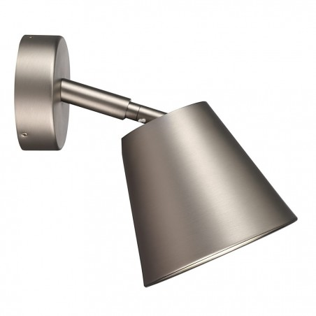 Brushed Steel Wall Bathroom Lamp