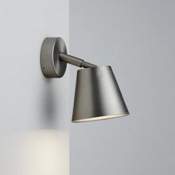 Brushed Steel Wall Bathroom Lamp