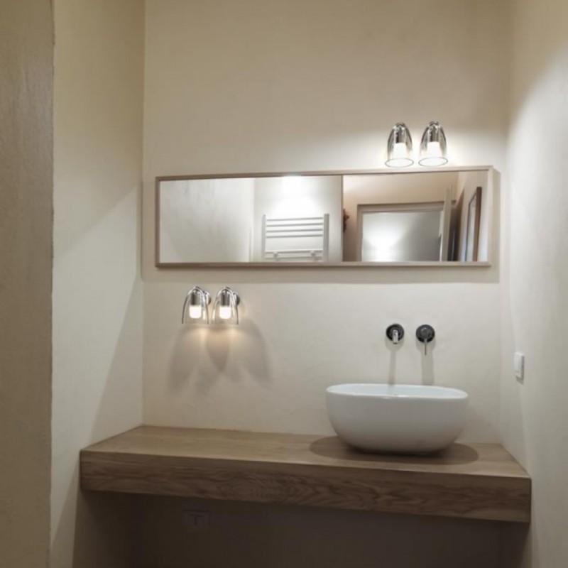 IP S7 Chrome Wall Bathroom Lamp