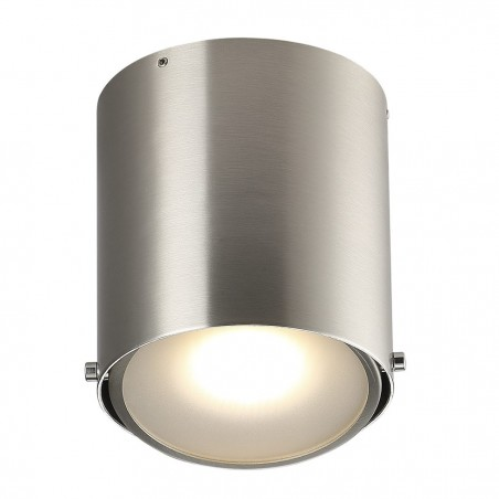 Brushed Steel Ceiling Bathroom Lamp