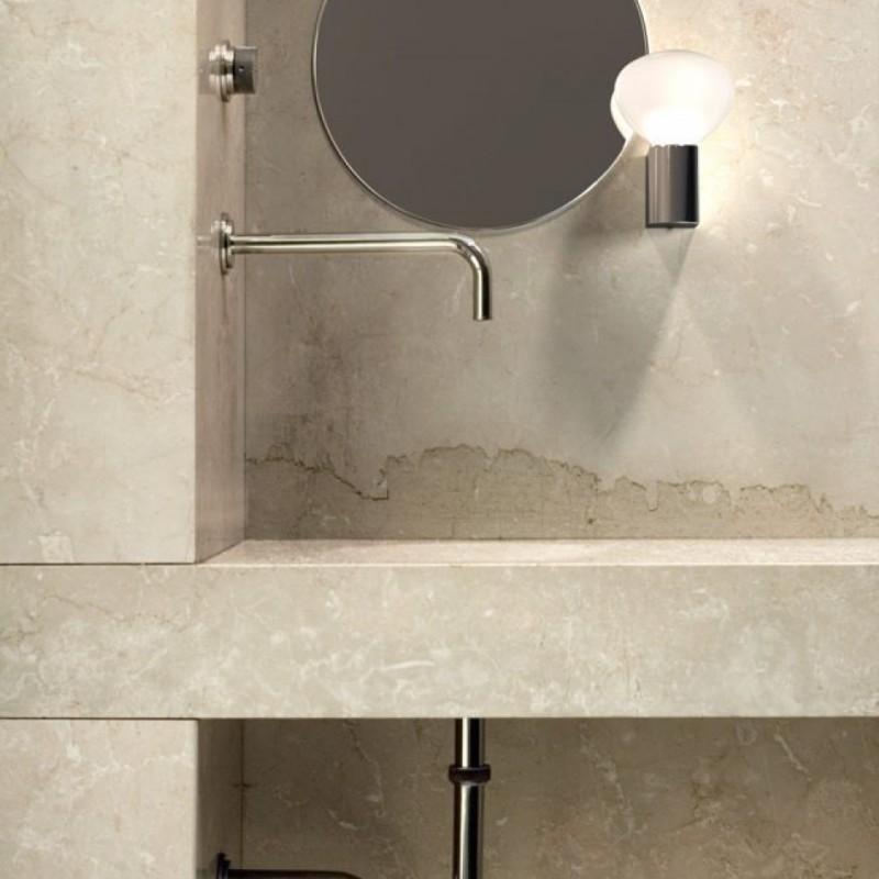 IP S3 Chrome Wall Bathroom Lamp