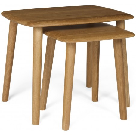 The Fifties Oak Nest od Tables