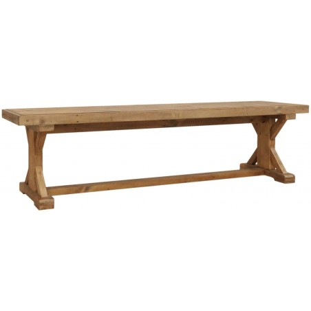 Manor Reclaimed Weathered Pine Bench