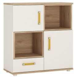 Urchin Cupboard and Shelves | Light Oak Finish