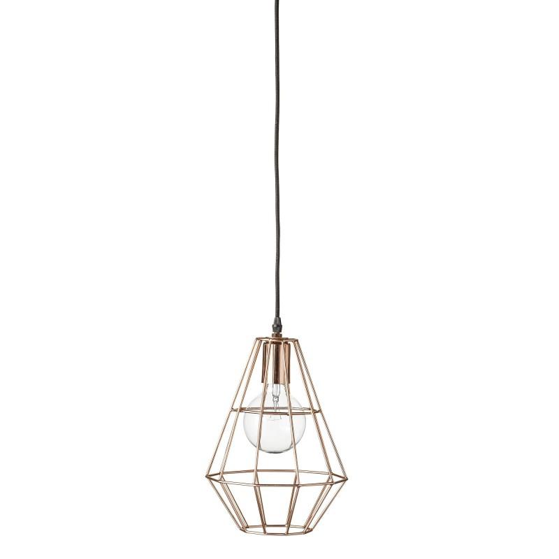 Bloomingville Pernille Pendant Lamp - Copper Finish