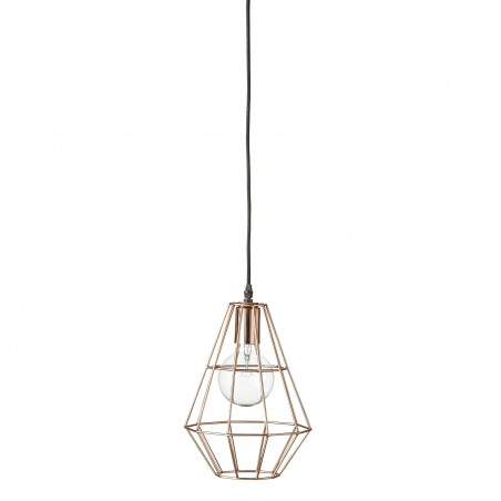 Bloomingville Pernille Pendant Lamp - Copper Finish