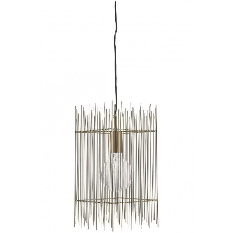 House Doctor Ace Pendant Lamp in Brass Finish