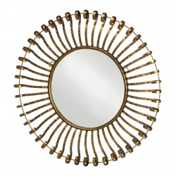 Cleopatra Mirror in Gold Finish