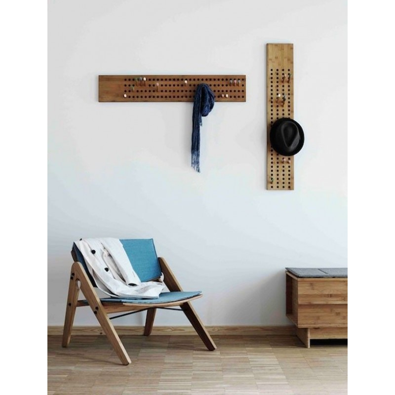 Danish Vertical Coat Rack
