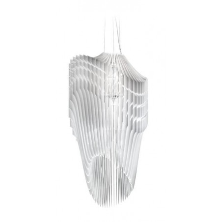 Zaha Hadid Extra Large Avia Suspension Lamp| Black | Transparent