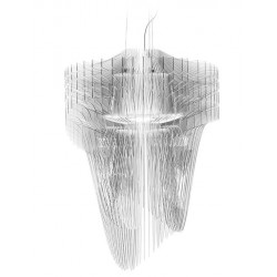 Zaha Hadid Large Aria Suspension Lamp | Transparent