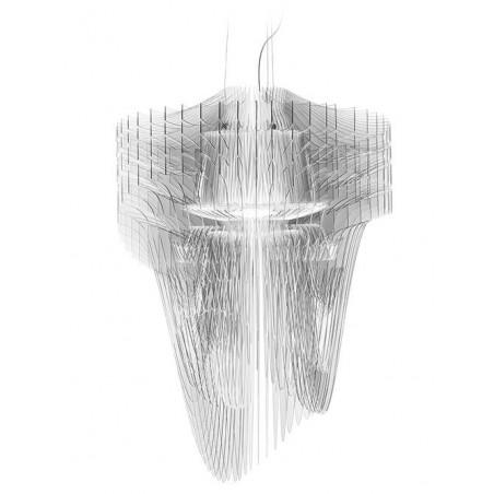 Zaha Hadid Large Aria Suspension Lamp | Transparent
