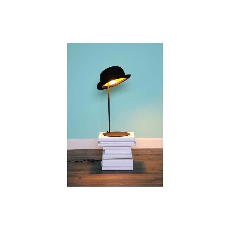 Innermost Jeeves Table Lamp   Black