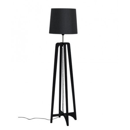 Cross Floor Lamp in Earth Finish