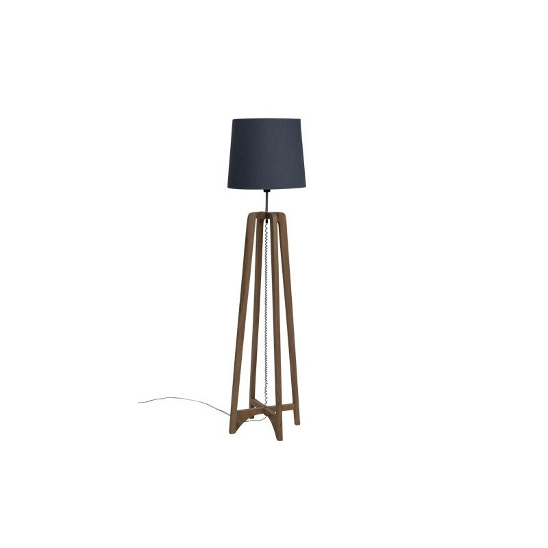 Cross Floor Lamp in Natural Colour