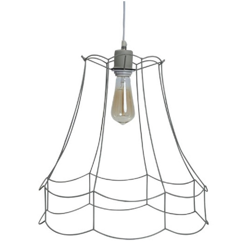 Trad Wire Hanging Lamp Shade