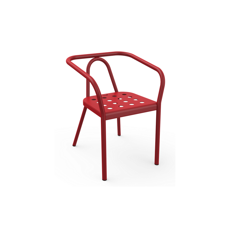 Matiere Grise Helm Aluminium Armchair