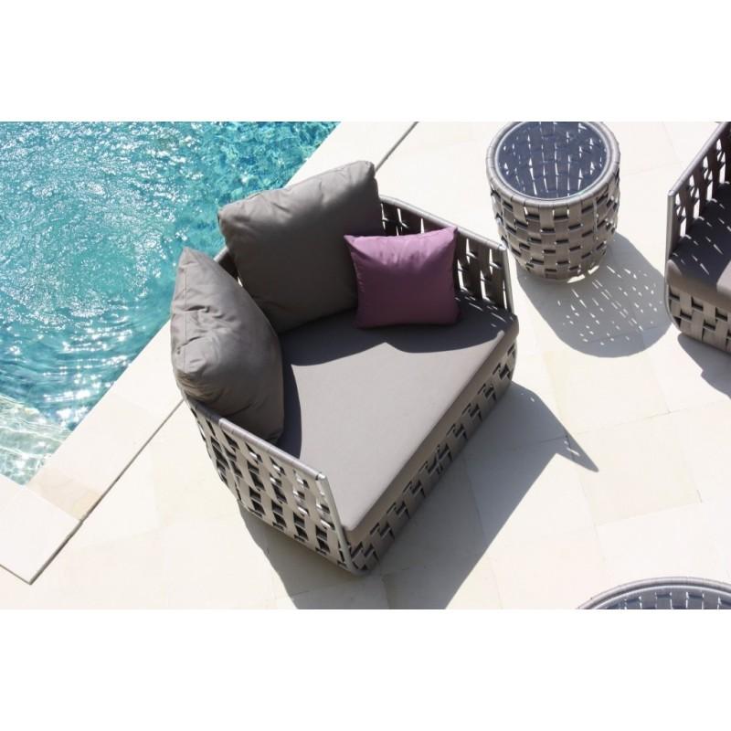 Skyline Design Strips Armchair