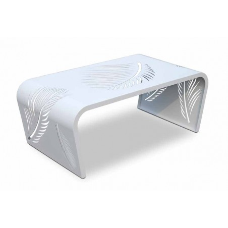 Skyline Design Axis Leaf White Coffee Table