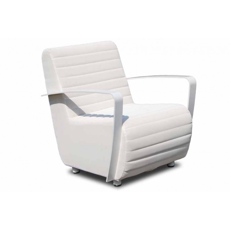 Skyline Design Axis White ArmChair