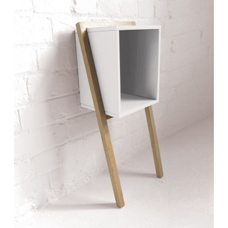 Lean Man Side Table by And Then Design