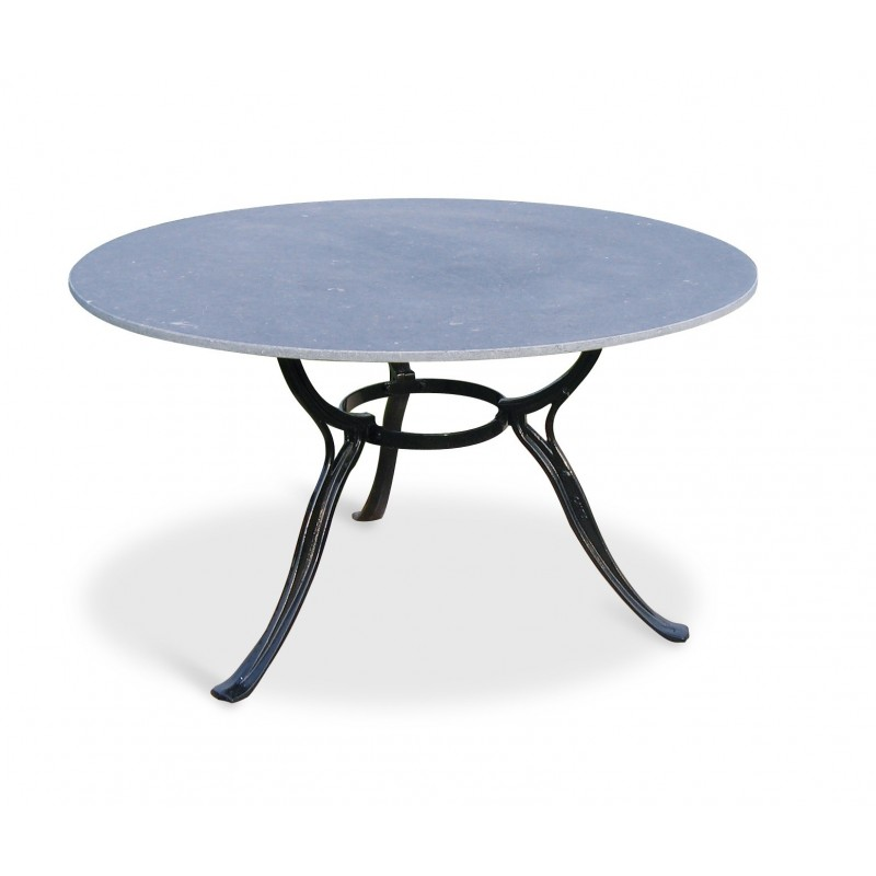 Gardeluxe Hefaistos Outdoor Round Table with 3 Legs
