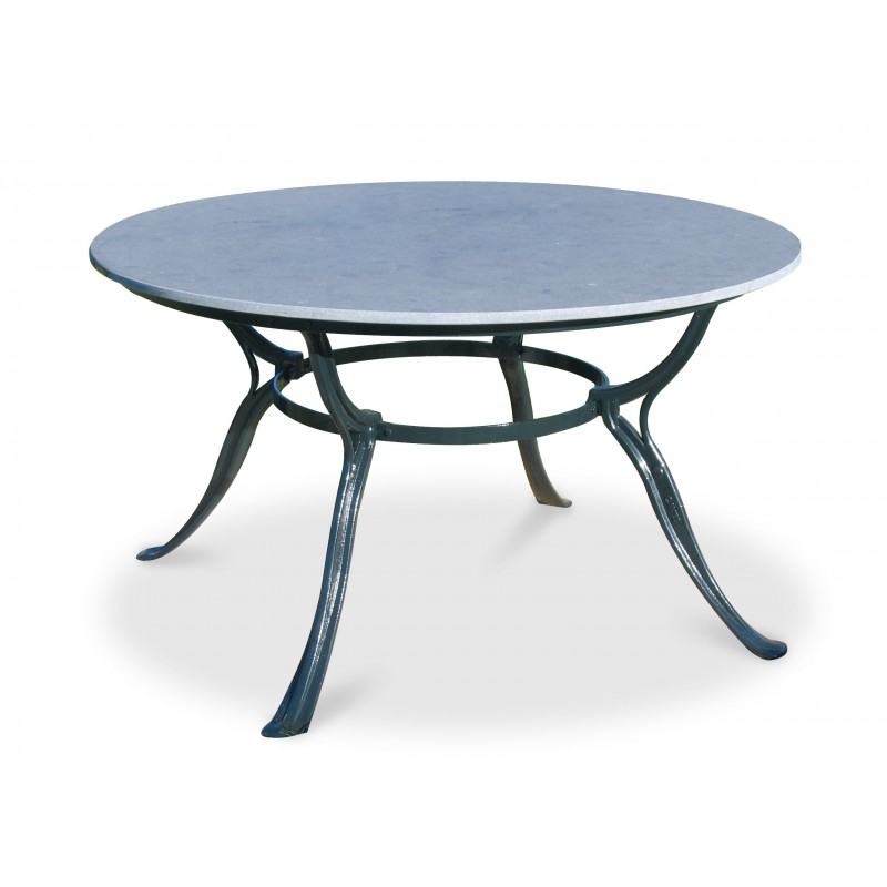 Gardeluxe Hefaistos Round Outdoor Table with 4 Legs