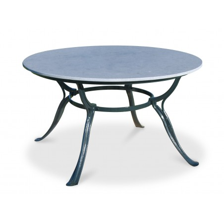 Gardeluxe Hefaistos Round Outdoor Table with 4 Legs