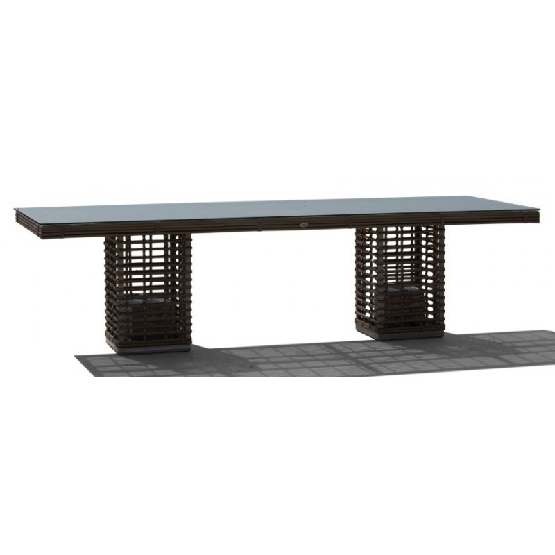 Skyline Design Castries Rectangle Dining Table | 8 Seat