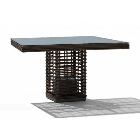 Skyline Design Castries Square Dining Table | 4 Seat