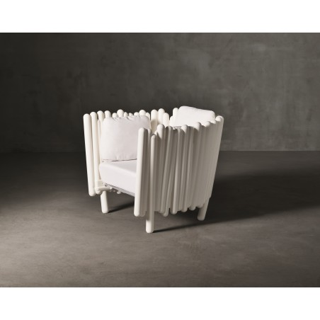 Canisse Outdoor Armchair by Serralunga