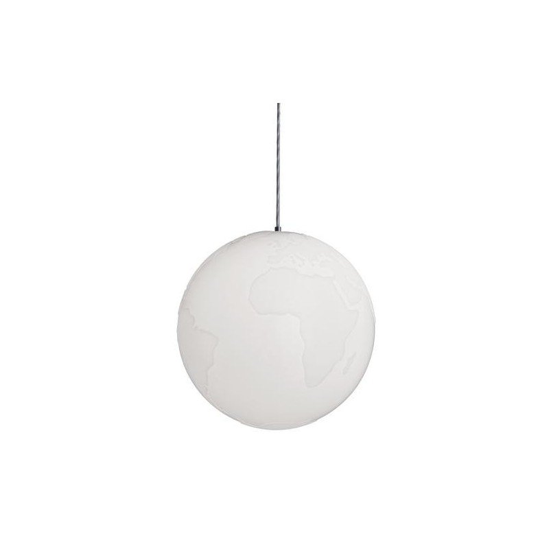 Planet Earth Suspension Lamp by Formagenda
