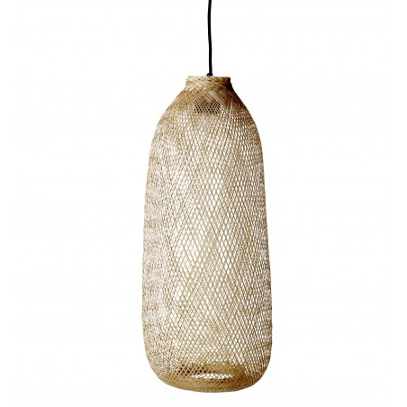 Bloomingville Bamboo Hanging Lamp Long
