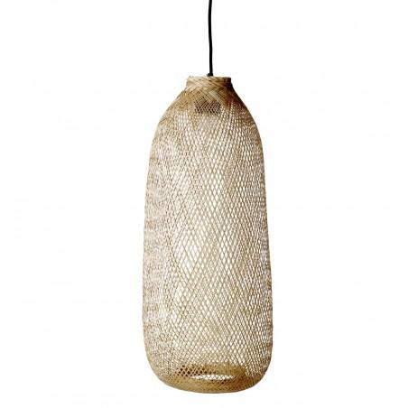 Bloomingville Bamboo Hanging Lamp bLong