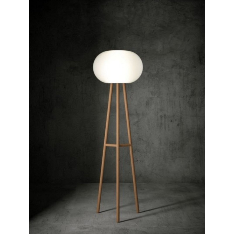 Baba Italian Floor Lamp | Beech or Iroko