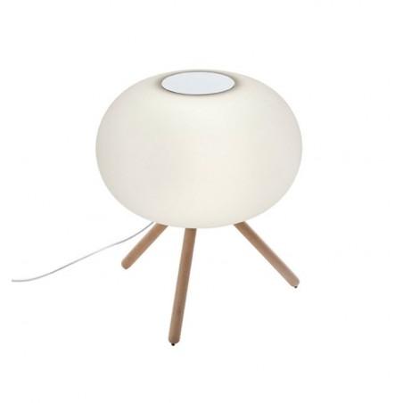 Baba Italian Petite Floor Lamp | Beech or Iroko