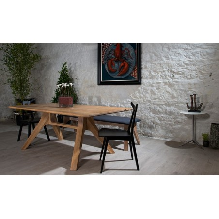 Veizla VT200 Oak Table