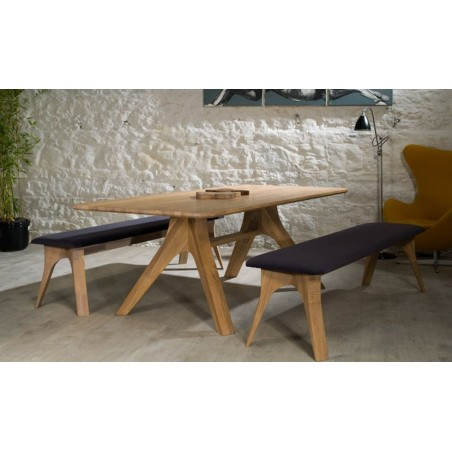 Veizla 180 Oak Bench