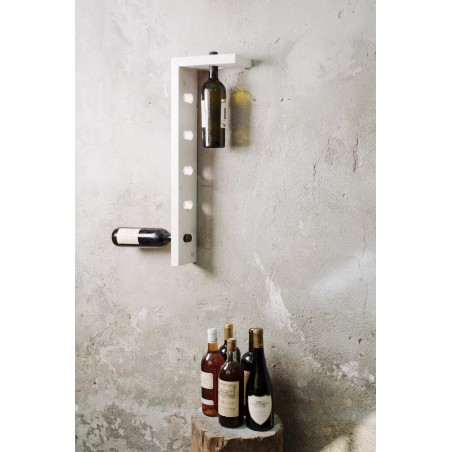 Elle Tinto Solid Oak Bottle Holder by D-Italy