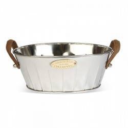 Heritage Champagne Bath Leather Handled