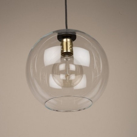 Globe Clear Glass Shade Pendant Light | Lighting | Culinary Concepts