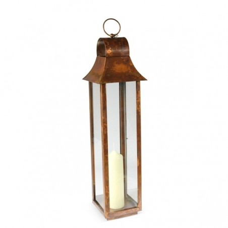Medium Burnished Copper Tonto Lantern