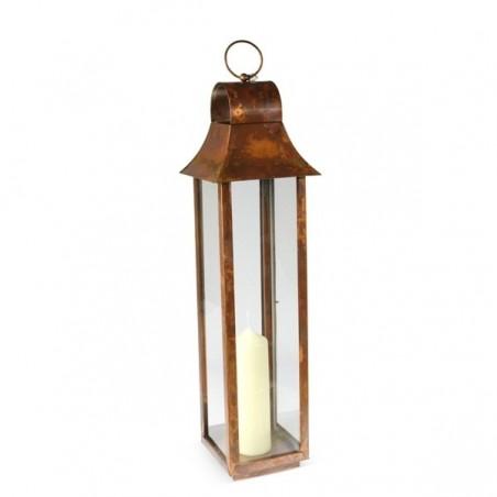 Medium Burnished Copper Tonto Lantern
