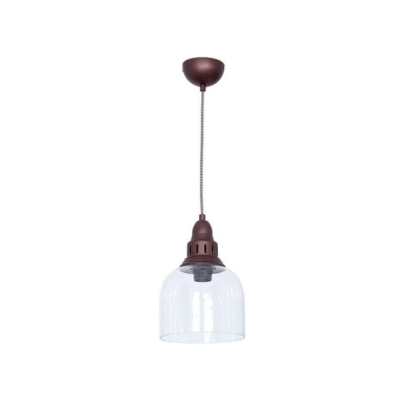 Whitechapel Iron & Glass Pendant Lamp - 4 Finishes