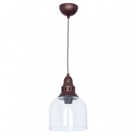 Whitechapel Iron & Glass Pendant Lamp - 4 Finishes